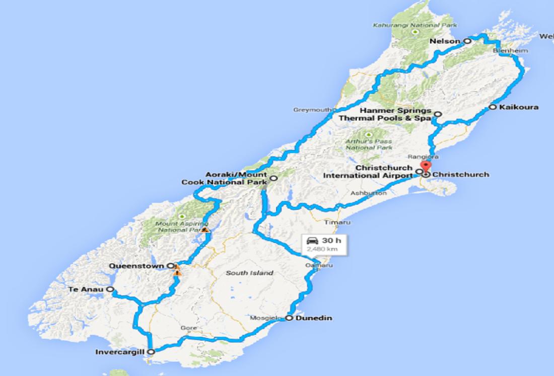 NZ round trip