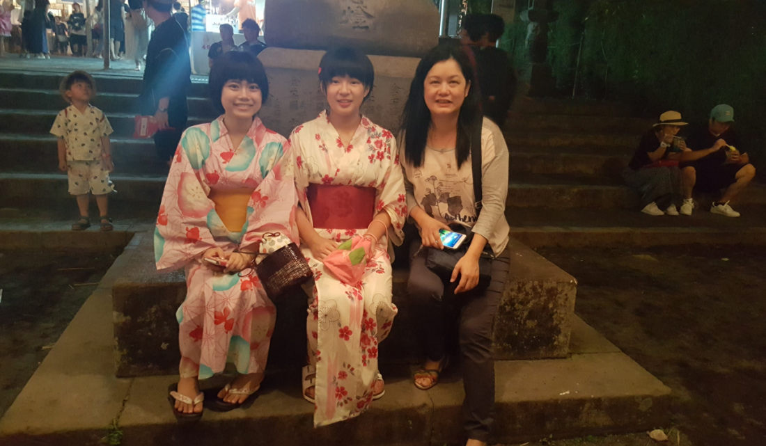 latern festival jap ladies pic