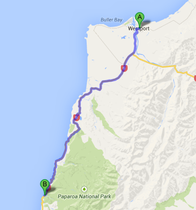 westport to punakaiki
