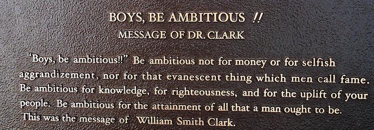 william clark message